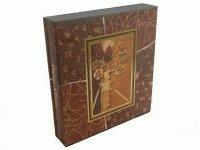 XC 210 Альбом с обл. в зол/сер. оттенках с цветами на 120 фото