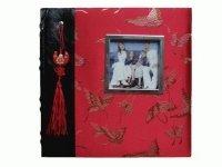 28524 Альбом с бум.листами,кармашк.и местом для записей на 200 фото