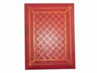 RC 46200 Альбом с обложкой под книгу, 4 цвета с бумажными листами и кармашками, место для записей,