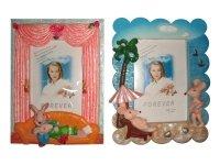 26532 Рамка для фотографий из керамики ( мышки отдыхают ) 10х15