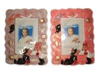 26534 Рамка для фотографий из керамики ( мышки влюбленные ) 10х15
