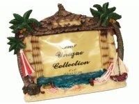 29732 Рамка для фотографий из керамики ( бунгало на океане ) 10х15