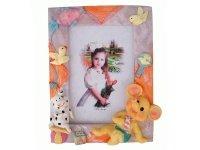 465358 Рамка для фотографий из керамики ( веселые слоники ) 10х15
