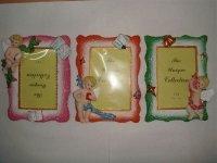 60119 Рамка для фотографий из керамики ( с ангелочками ) 10х15