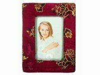 61603 G Рамка для фотографий из меха (бархат) 10х15