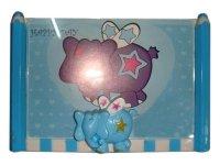 5516 Рамка для фотографий с фигурками ( со слоником и подставкой для ручек ) 10х15