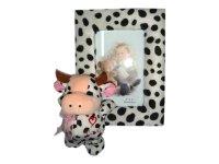 67001 Рамка для фотографий из меха с бычком 10х15