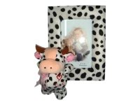 67001 Рамка для фотографий из меха с бычком 10х15 (2 сорт)