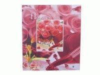 2905 Альбом на 50 магн.листов 22,5*28,0см.обложка цветы и сердце