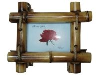 1119 Рамка для фотографий бамбук 30х40 (2 сорт)