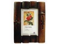 2073-10х15 Рамка из  бамбука  для фотографий  10х15см